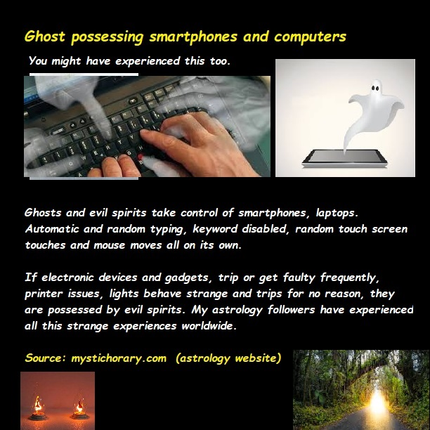 ghost posession astrology