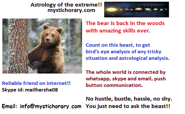 bear is back in woods mystic horary astrology
