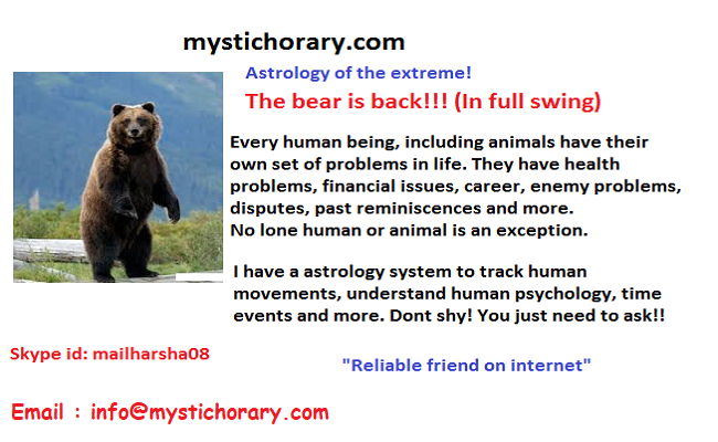 bear is back mystic horary astrology
