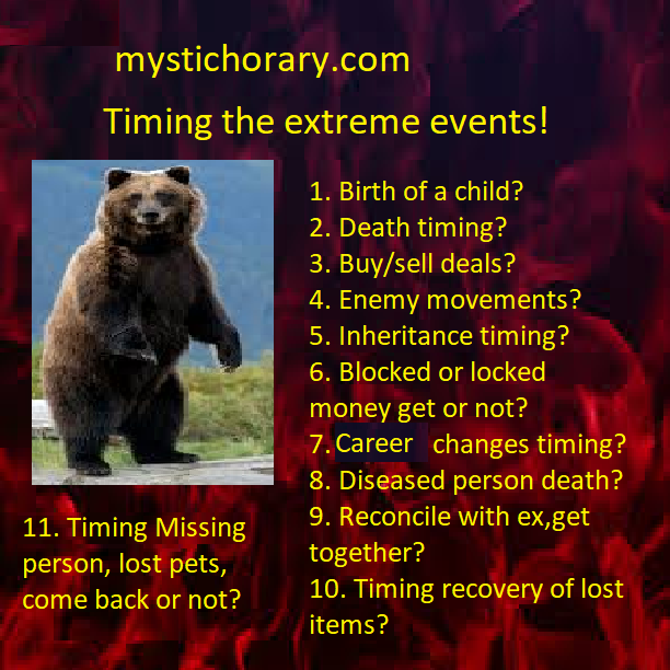 timing-extreme-events- astrology - mystic horary