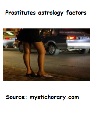 Prostitutes astrology factors