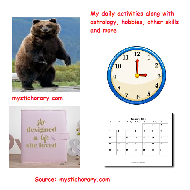 daily activities astrology