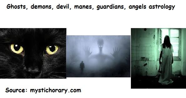 Ghosts demons devil demigods astrology horoscope