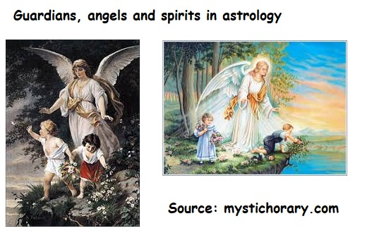 Guardians angels spirits astrology horoscope
