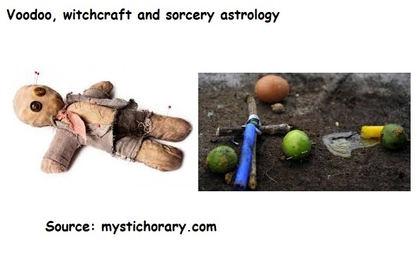 Voodoo witchcraft sorcery astrology horoscope
