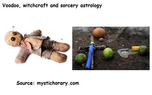 Voodoo  witchcraft  sorcery astrology horoscope