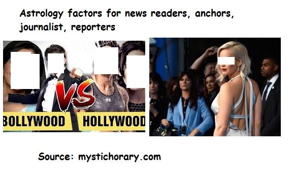 new readers, anchors, journalists, reporters astrology, horoscope